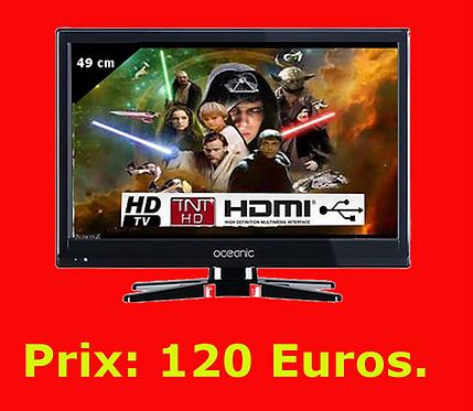 TV Edge LED HD 49cm