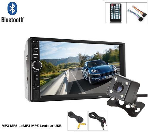 7 Pouce Bluetooth Audio, Tactile