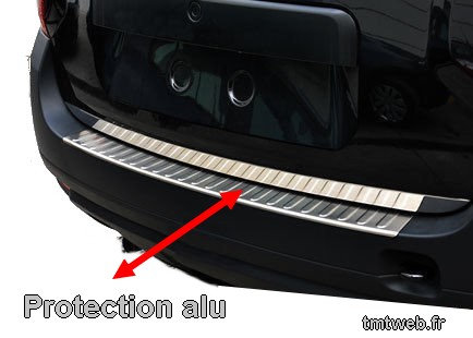 Protection alu  coffre arriere DUSTER