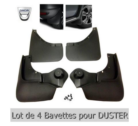 Lot 4 bavettes DUSTER-