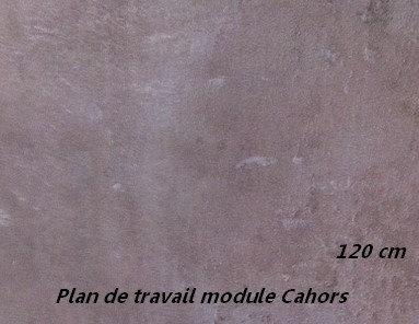 Plan de travail CAHORS 120 cm