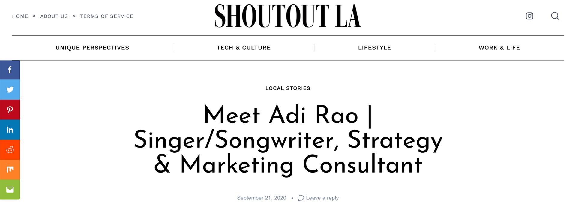 ShoutoutLA Article