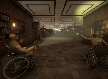 I am look for patients for a new vr escape game The Hospice of Evil