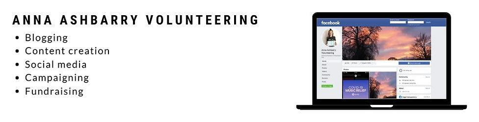 Anna Ashbarry Volunteering Personal Project
