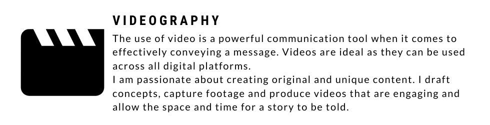 About videography services