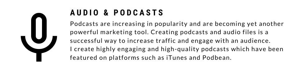 About audio and podcast services