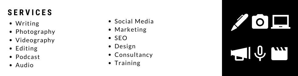 A list of freelance services