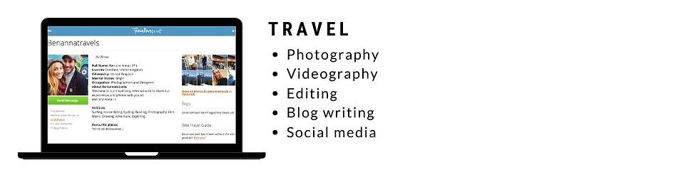 Travel Blog Personal Project