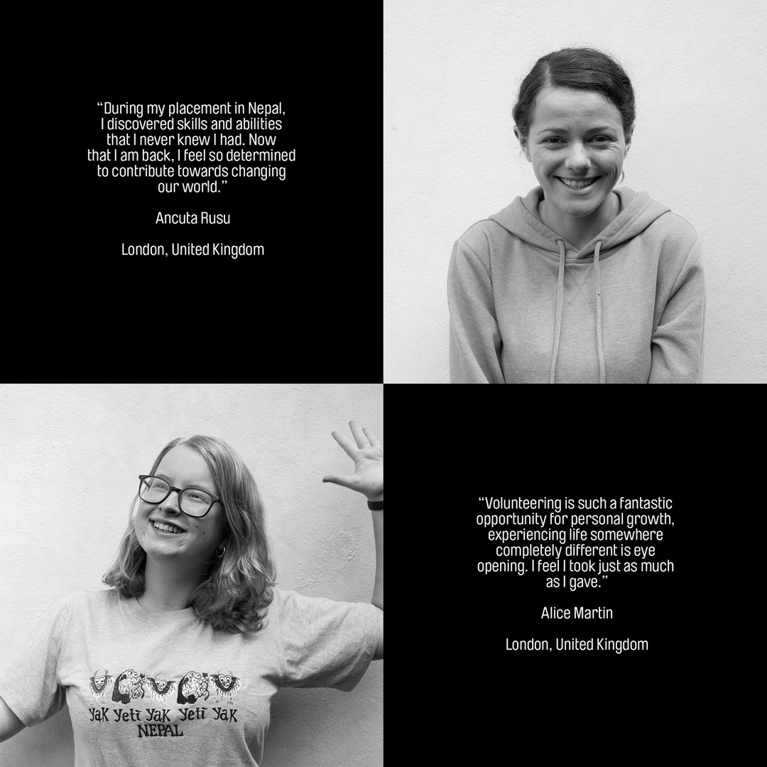 Quotes from UK volunteers