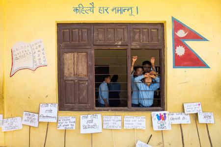 School children in Nepal
