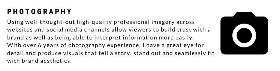 About photography services