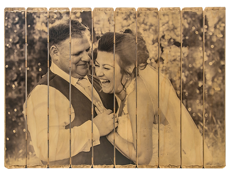 10 panel wedding photo on wood, picture pallet, pictures on wood, wedding gift, anniversary gift