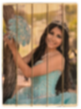 5 panel phlatt, quinceanera, party ideas, party favor, picture on wood, custom wood photo