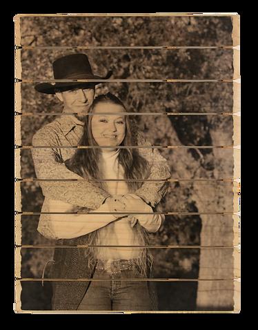 9 panel phlatt, engagement photo on wood, wood wedding gift, wedding guestbook, reception idea, wooden guestbook