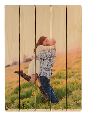 5 panel photo phlatt, photo on wood, picture pallet, wooden guestbook, wood art, wood photo, custom photo pallet