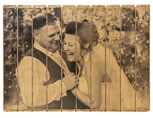 10 panel phlatt, wedding photo on wood, wedding photo design, wooden picture pallet, wedding gift, rustic home decor