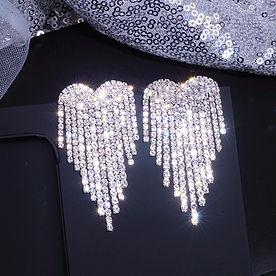 Silver Earings Danglers