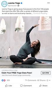 Looma Yoga Campaign - Free Class Promo.p