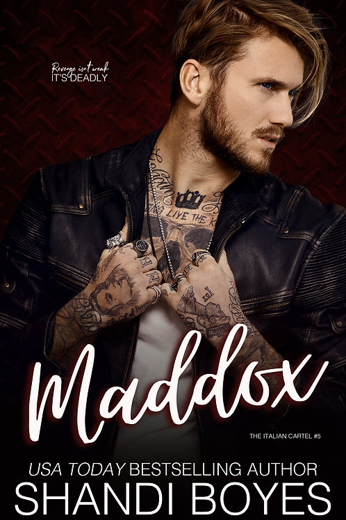 Maddox Signed Paperback