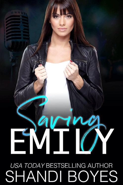 Saving Emily Signed Paperback