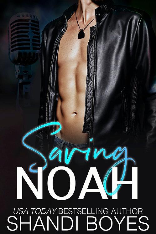 Saving Noah Signed Paperback