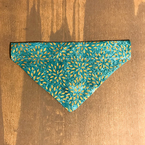 Teal & Gold Pattern