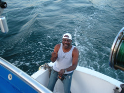 Al swordfish fishing in Acapulco
