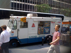 _If you want the best ice cream..you ask for Mister Softee..S-o-f-t-double e.