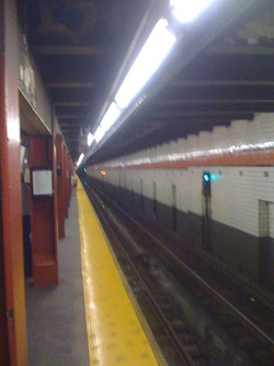 Where the hell is that damn _A_ train I gots to get uptown.