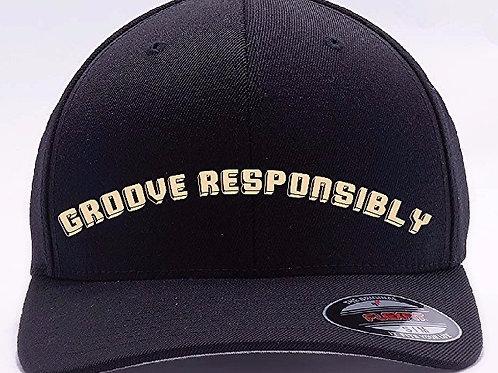 """Al's Flexfit """"GROOVE RESPONSIBLY"""" sports cap"""