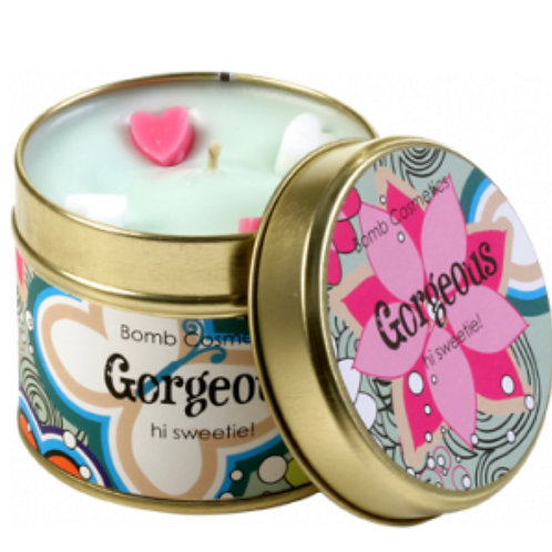 Gorgeous tinned Candle