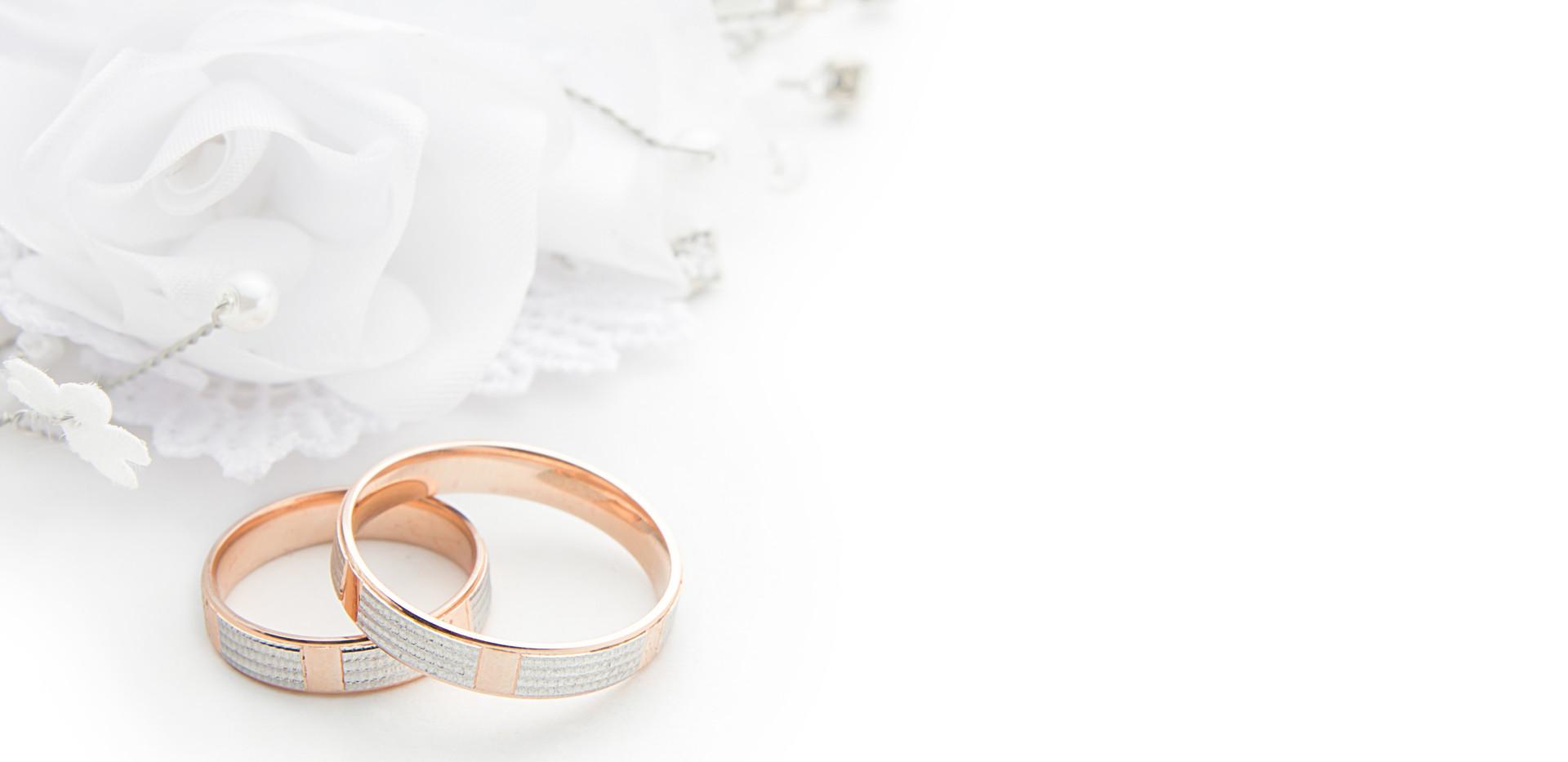 obrączki wesele