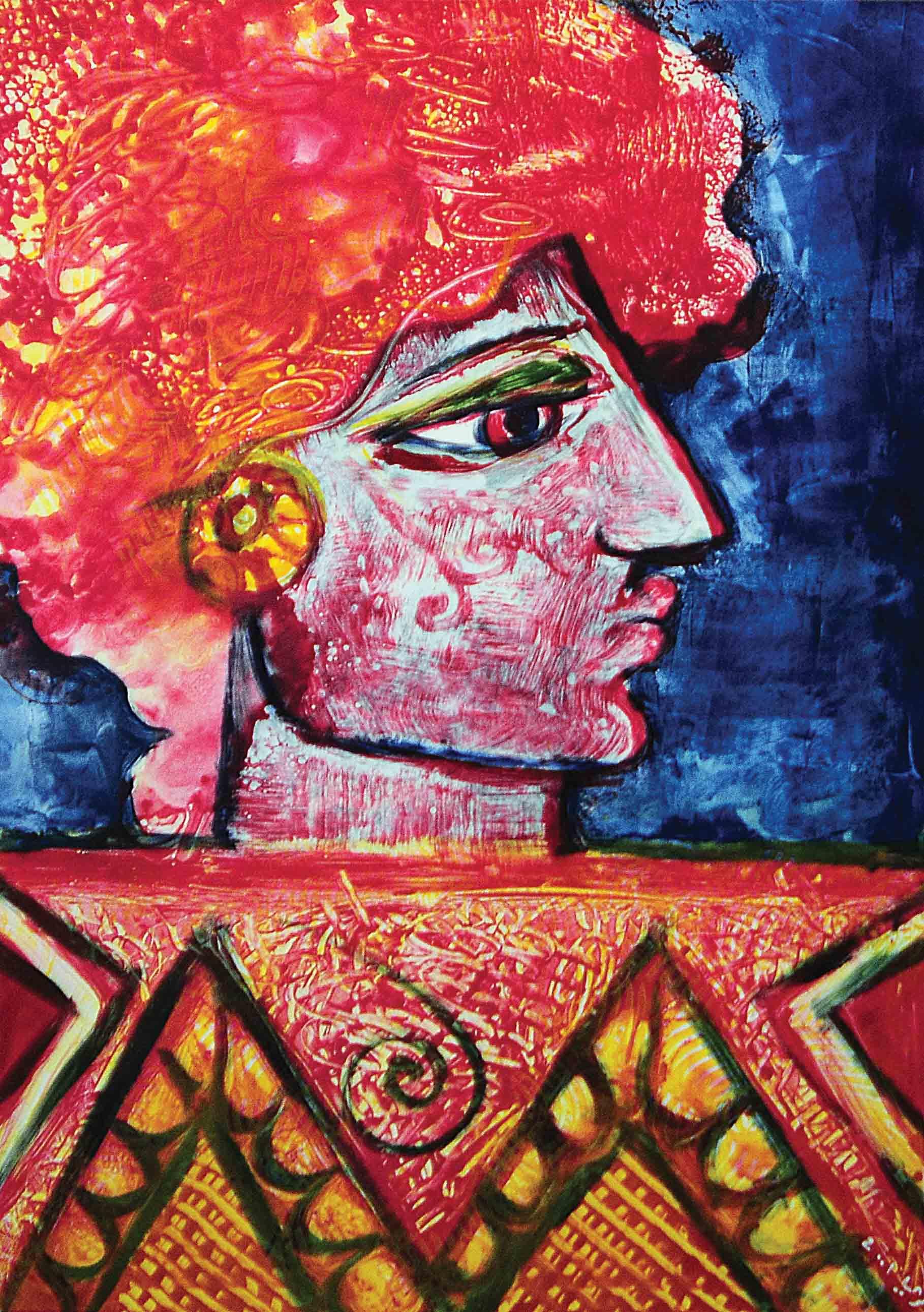 Lady of Henna, 2001