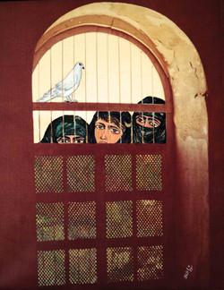 Caged Pigeon, 1986