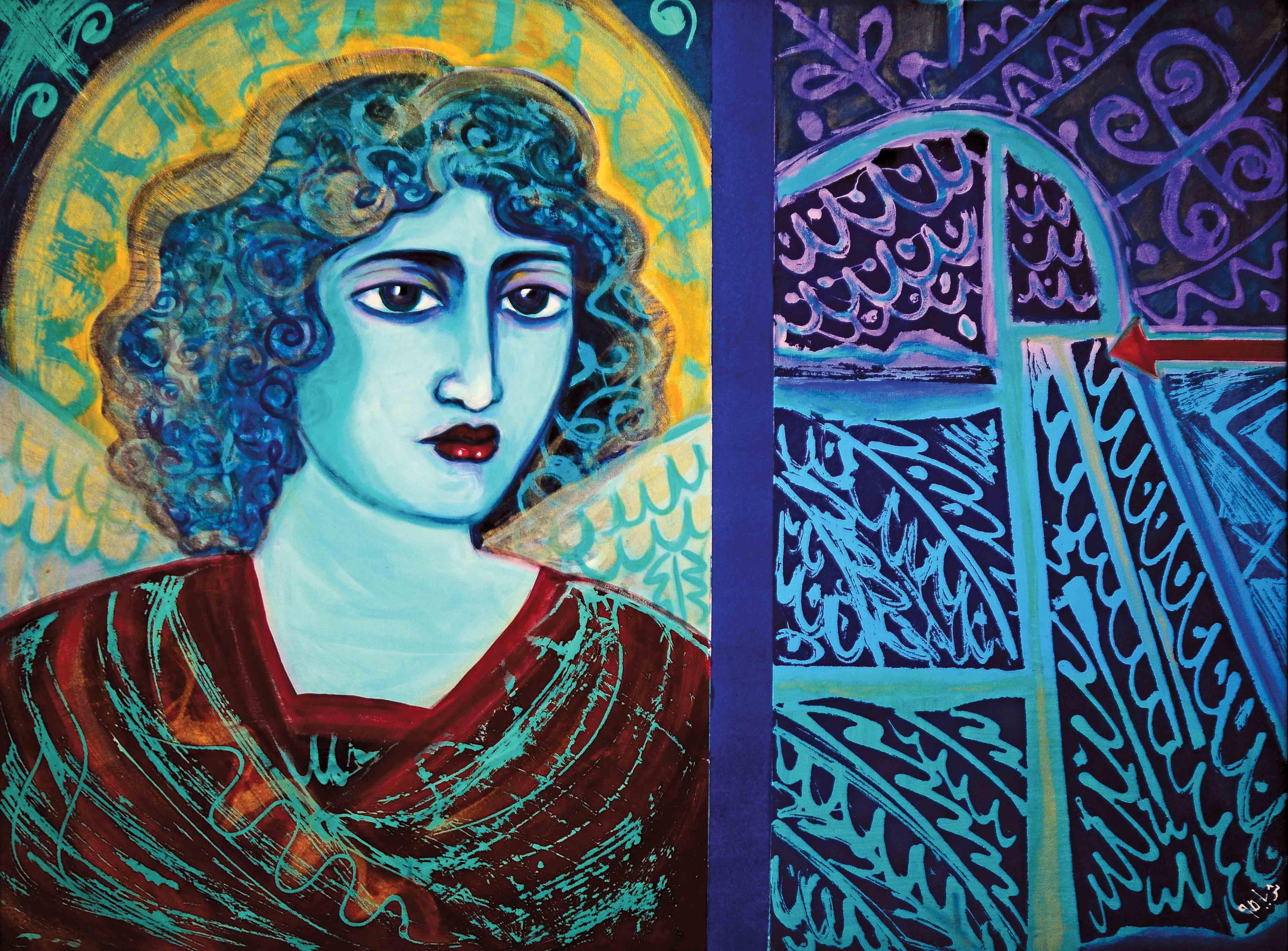 Oriental Angel I, 1995