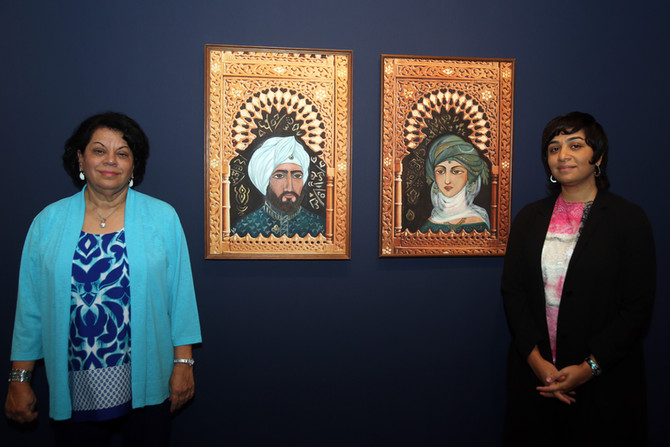 """Lasting Impressions"" Retrospective exhibition - Sharjah Art Museum"