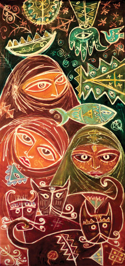 Women's Dreams II, 1996