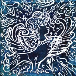 Bird of Paradise II, 1994