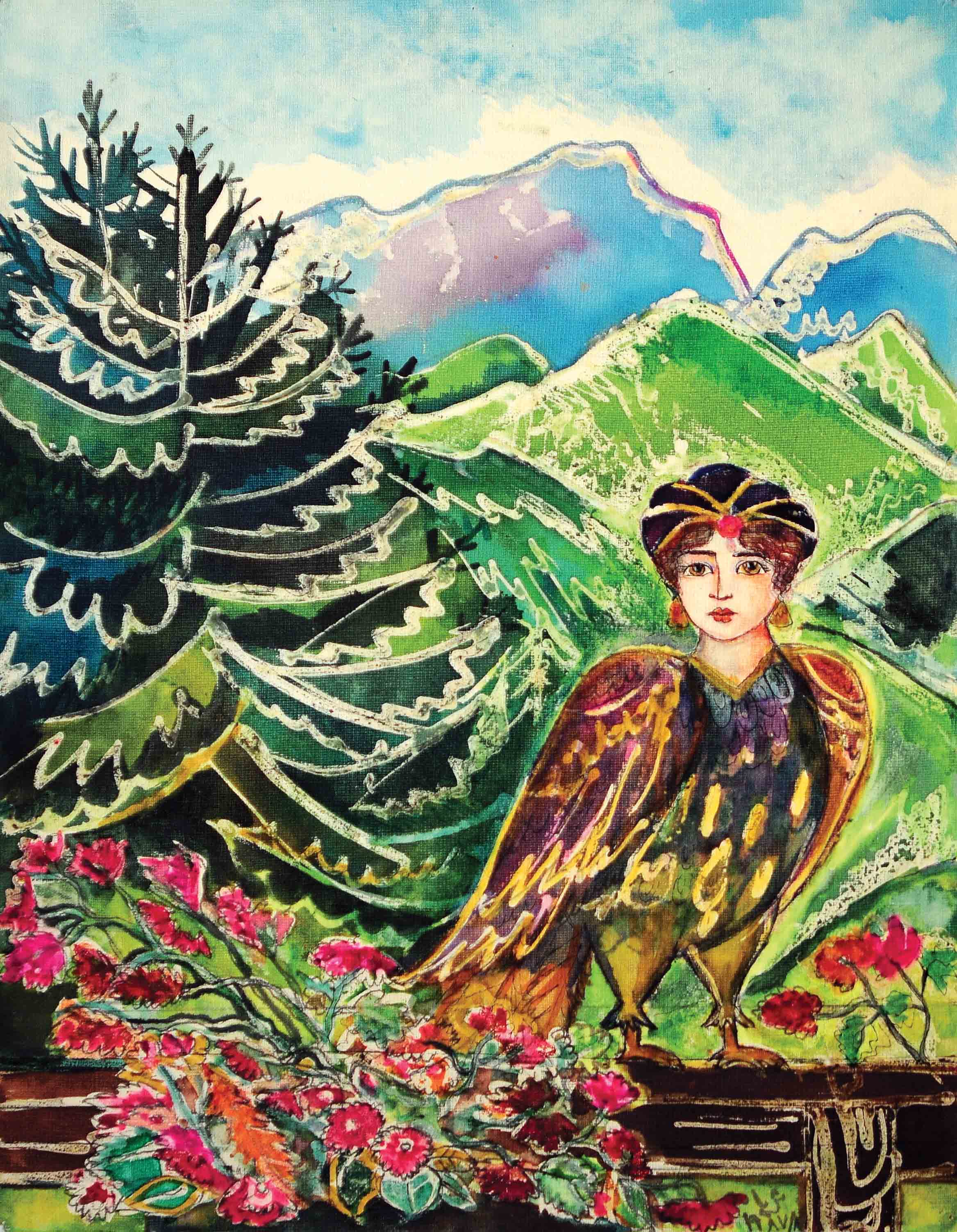 Bird from the Orient, 1987