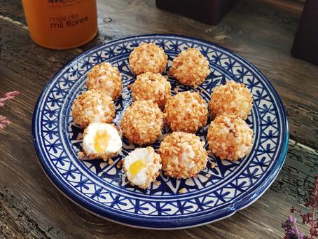 Recetas con miel: Bombones de queso y miel