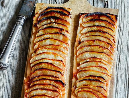 Recetas con miel: Tarta de manzana y miel