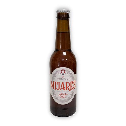 Cerveza artesana Mijares Golden Ale 33 cl