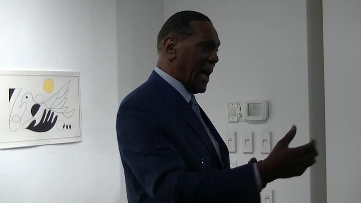 Richard's Talk at the Reception