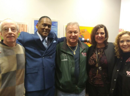 Richard Phillip's Art Show Reception