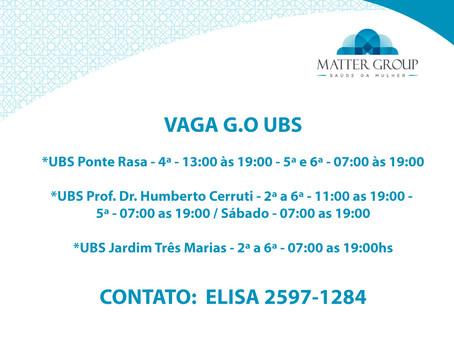 VAGA G.O UBS