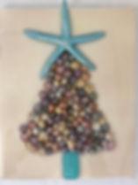Colred Seashell and starfish Christmas T