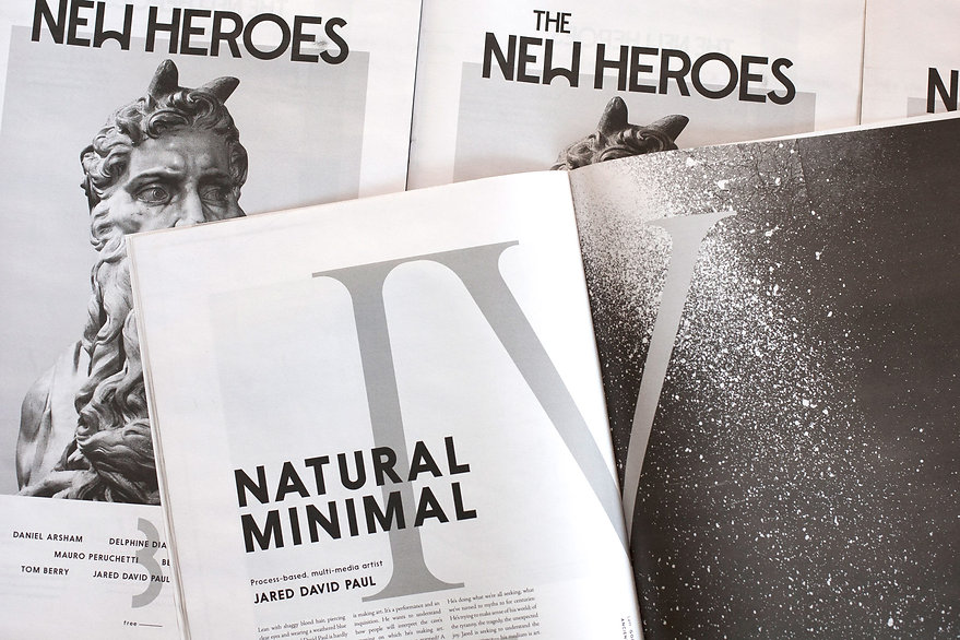 The New Heroes newspaper publication