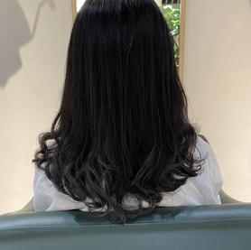 Soft perm enso hair studio
