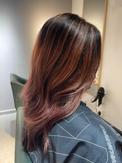 enso hair studio foilyage