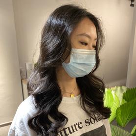 Soft perm Am eNSO HAIR STUDIO